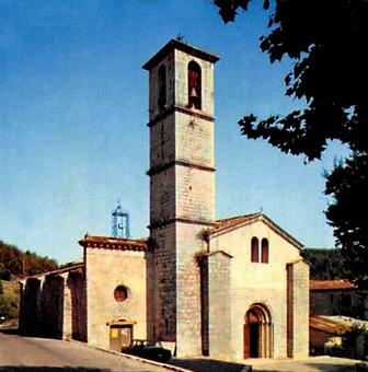 Abbaye Sainte Marie de Valbonne et la Chapelle Saint Esprit