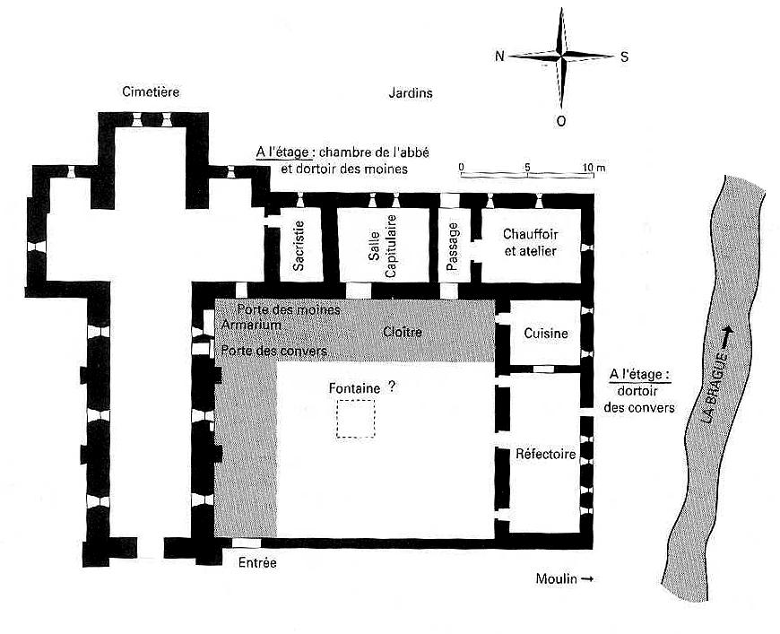 Plan de LAbbaye