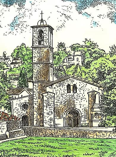 abbaye dessin